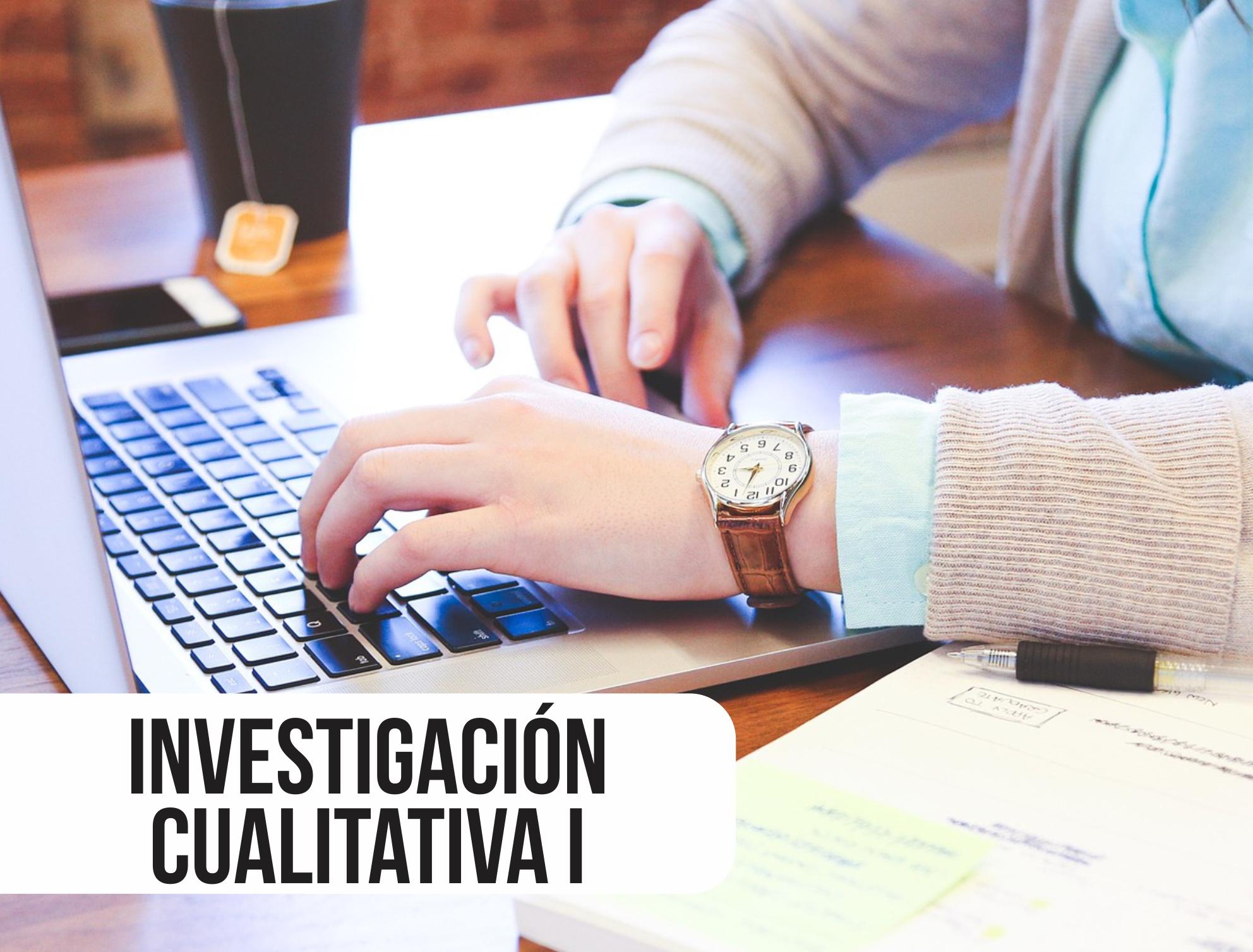 INVESTIGACIÓN CUALITATIVA I